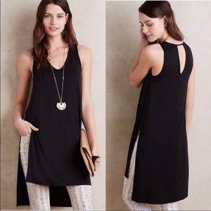 Akemi + Kin Anthropologie Black Longview Dress M